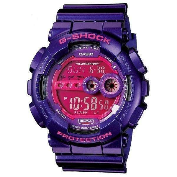 ساعت مچی کاسیو جی شاک GD-100SC-6DR